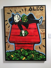 Alec Monopoly, Sleeping on Money House 2015
