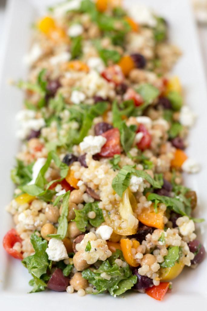 Mediterranean Pearled Couscous Salad macro