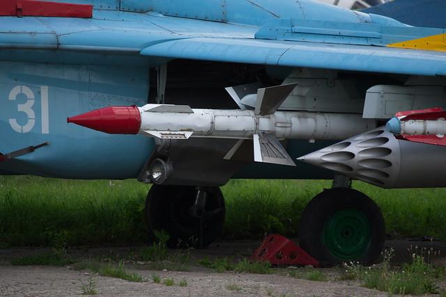 Header of air-to-air