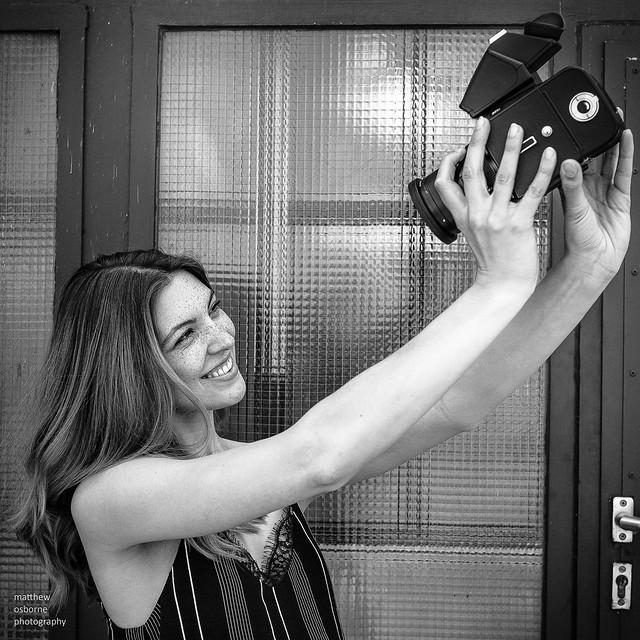 Hasselblad Selfie