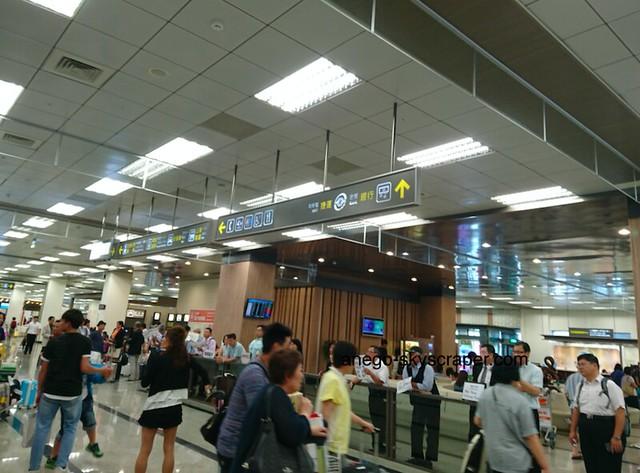 松山空港 到着