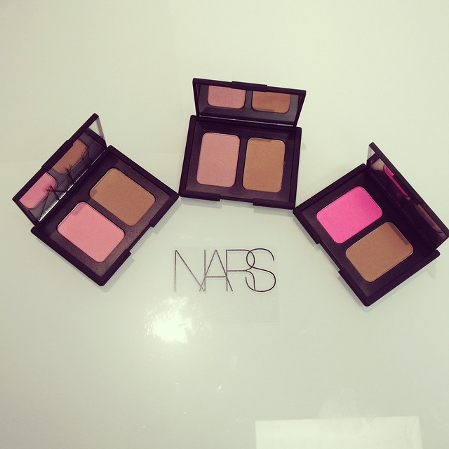 nars blush and bronzer duos