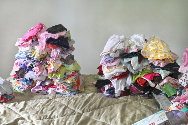 Baby Clothes Sorting, 3m & 6m
