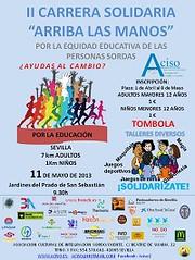 Carrera solidaria 'Arriba las manos' este sábado 11 en Nervión