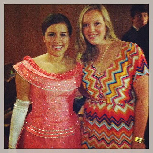 Hanging with the Duchess of Austin 2013
