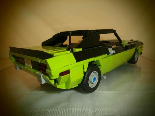 LEGO 1970 Plymouth AAR Cuda