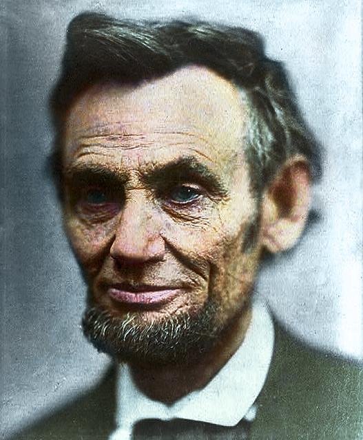 Abraham Lincoln - Last photograph