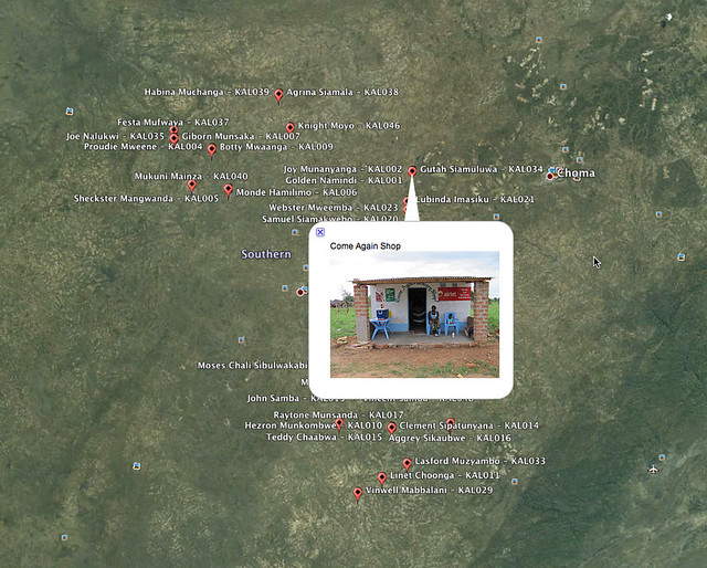 Kalomo Retailers - Google Earth