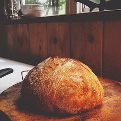 Homemade sourdough on Bowen Island. #sourdough #bread #bowen #vsco #vscocam
