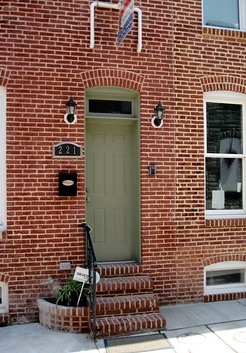 rehabbed home for sale, Baltimore (c2013 FK Benfield)