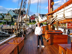 On board Bluenose II