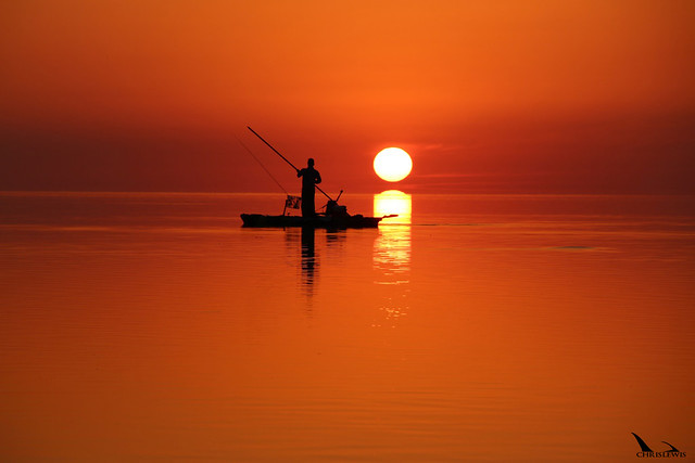 Keys SUP sunset
