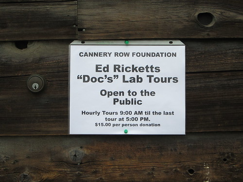 "Ed ""Doc"" Ricketts' Lab"