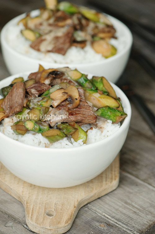 Beef & Asparagus Stir-Fry « Kayotic Kitchen