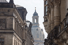Dresden - Blick auf die Frauenkirche