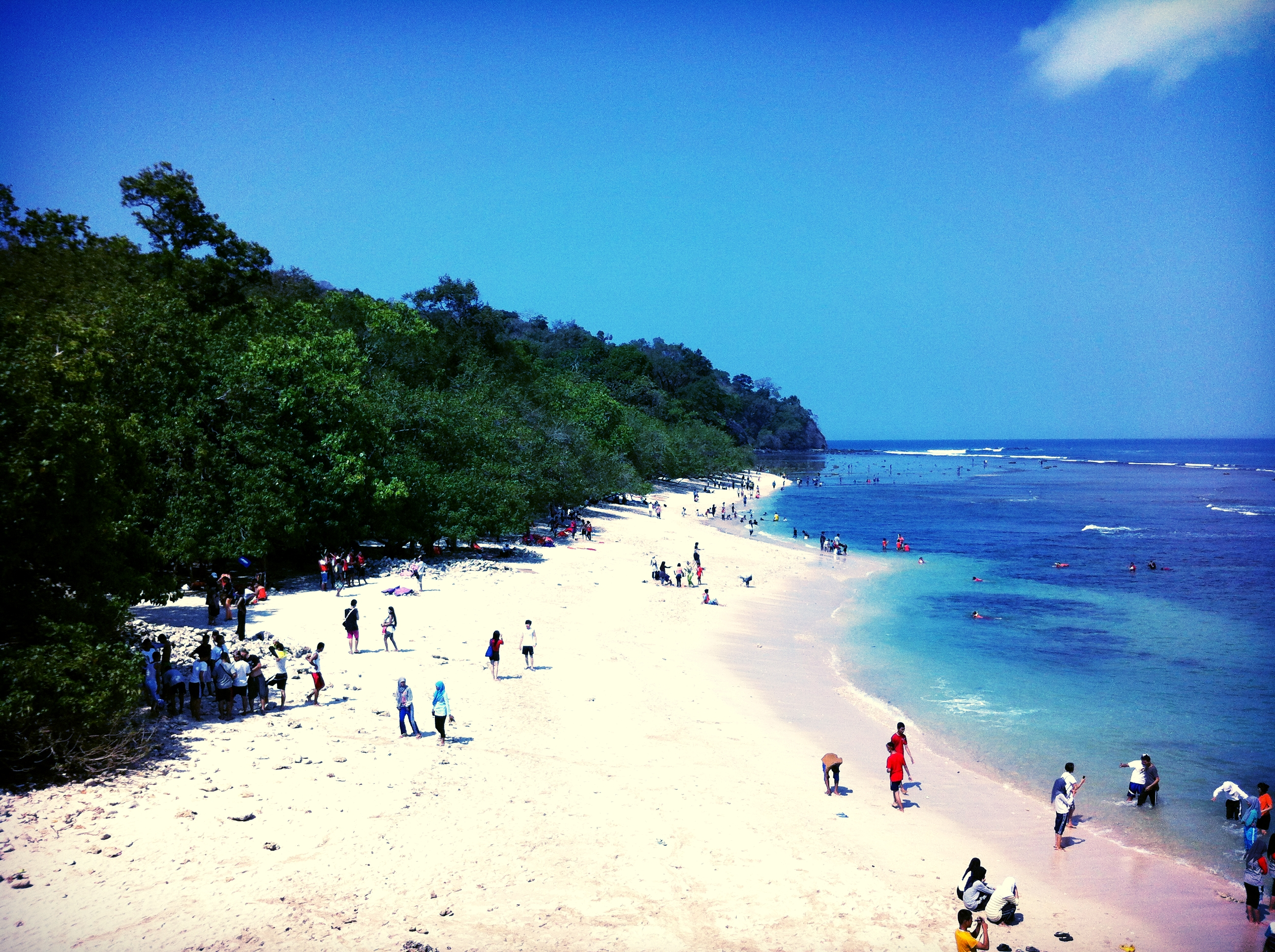 Pasir Putih Beach Pangandaran