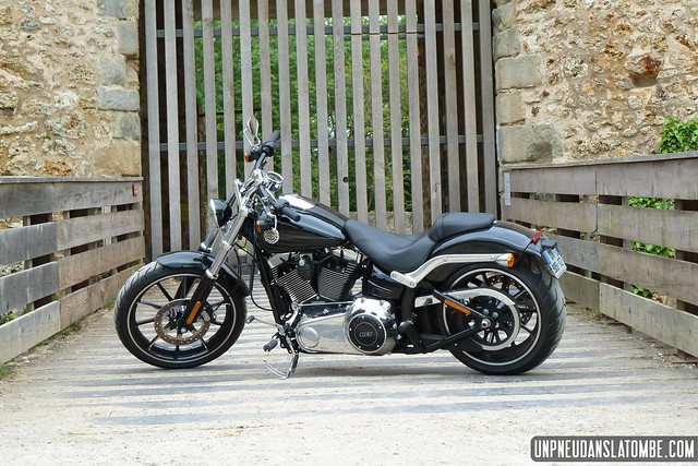 La nouvelle Harley-Davidson Softail Breakout.