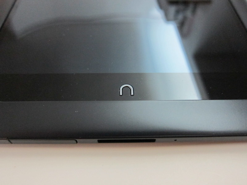 Nook HD+ - The Home Button