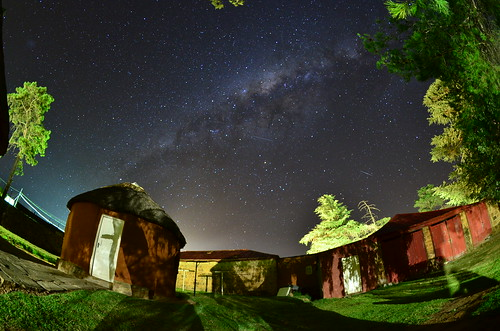 Night sky in Roma, Lesotho