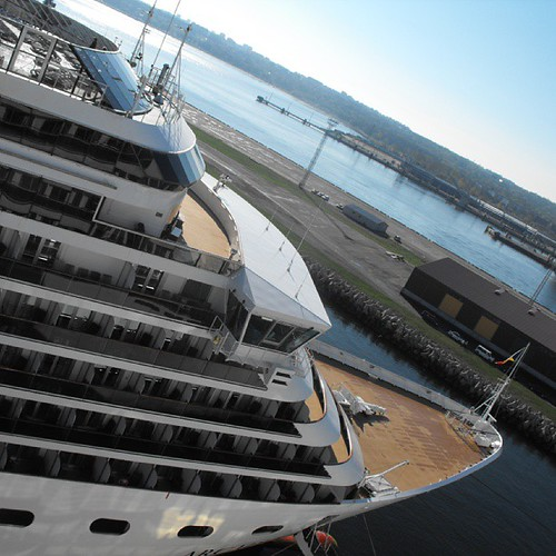 P & O Arcadia Tallinn Estonia by chrisLgodden