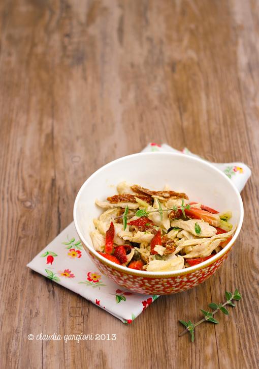 insalata di pollo e fragole
