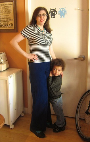 MMMay 14: Cake Tiramisu Top & Vogue Trousers