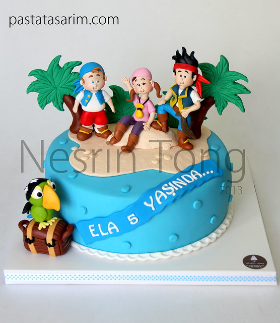 jack and neverland pirates cakeela
