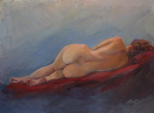Reclining Nude by elle3b