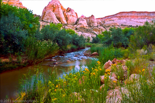 Capitol Reef NP: Fremont River Morning