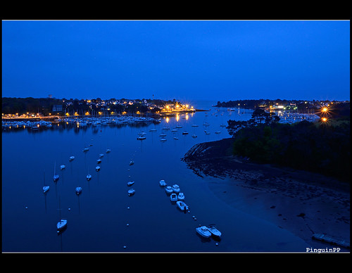 Blue Hour - Bénodet