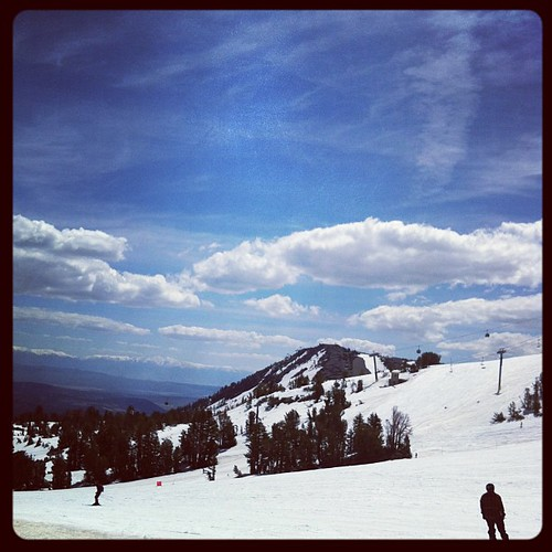 Gorgeous day. #mammothmountain
