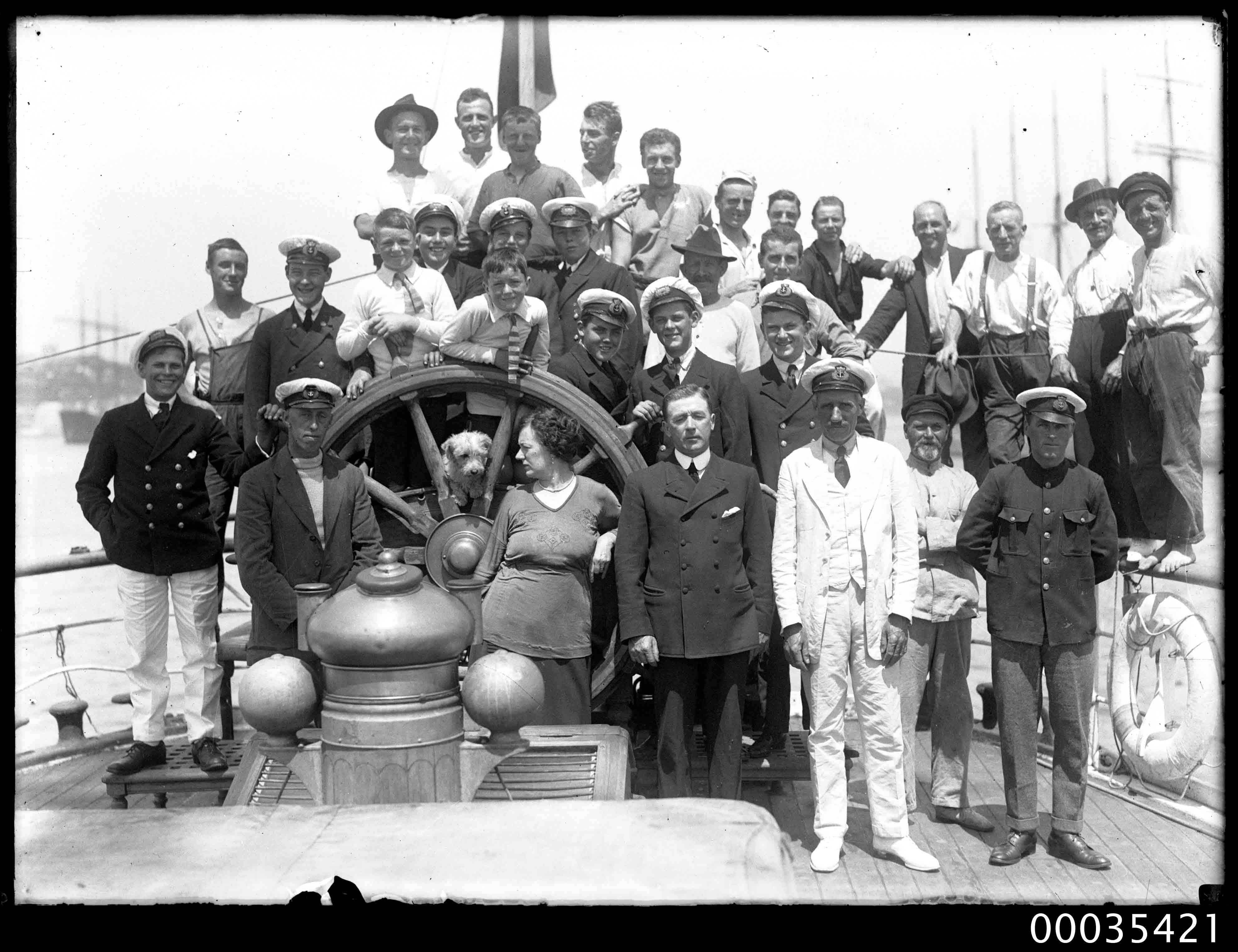 The crew of MOUNT STEWART