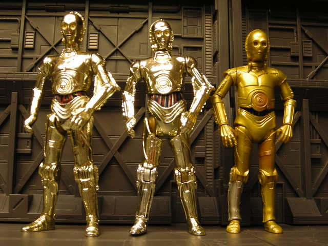 Three Threepio