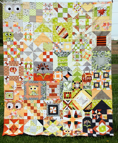 My Favorite Block Quilt Along - Top Pieced!