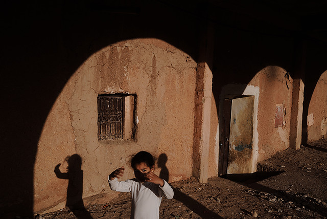Town of Ouarzazate - Fantastic Color Street Photographs