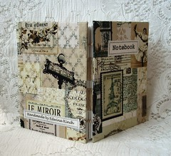 Vintage Paris notebook