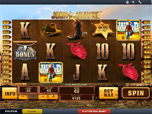 John Wayne slot game online review