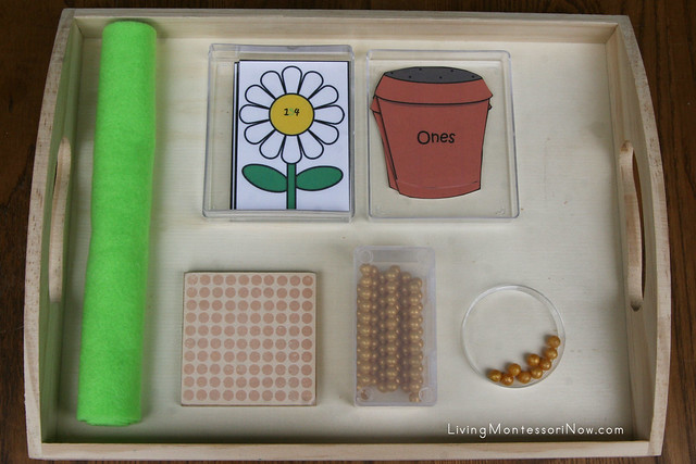 Free Flower Printables And Montessori Inspired Flower Math