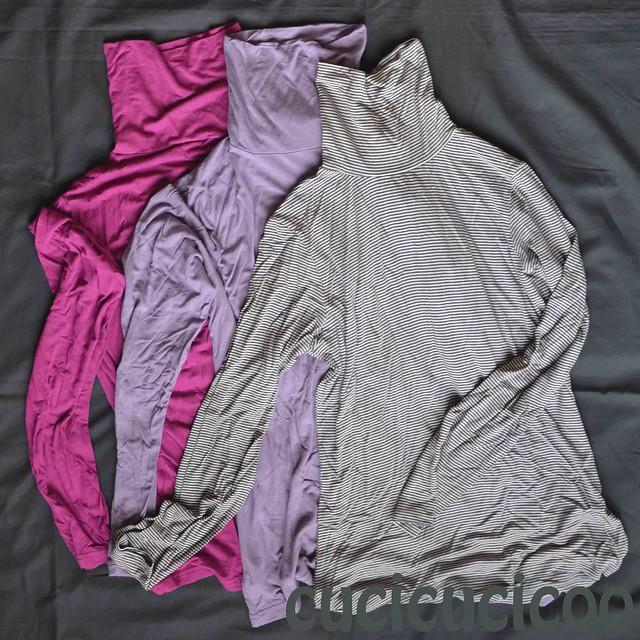 Refashion long-sleeved shirts into leggings