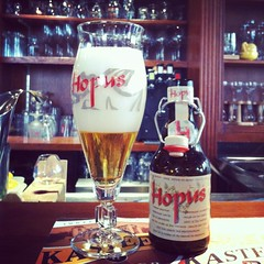 First Belgian beer in Belgium