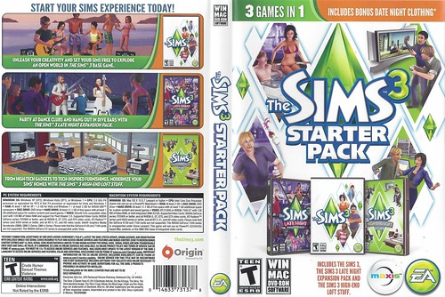 The Sims 3 Starter Pack Overview | SimsVIP