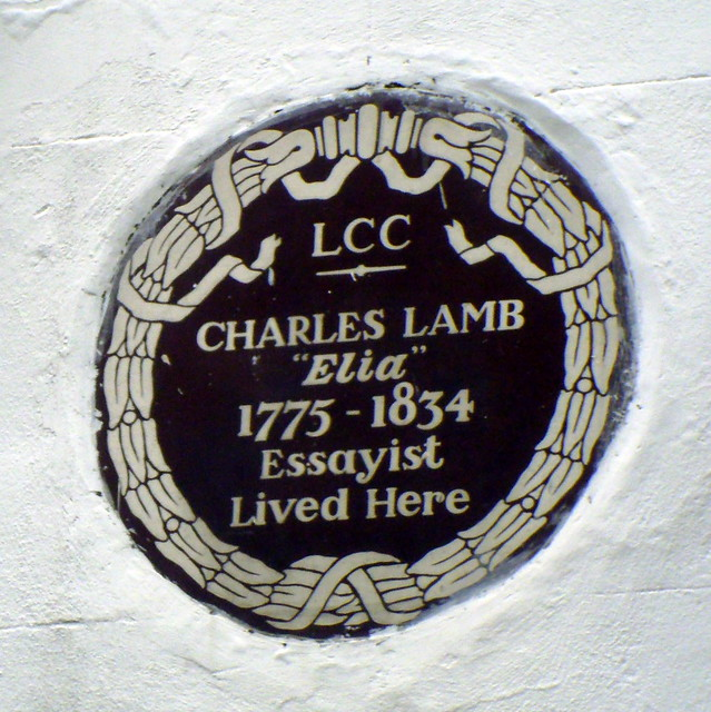 Header of charles lamb