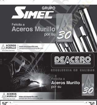 ¡¡Agradecemos sus Felicitaciones!! by Aceros Murillo