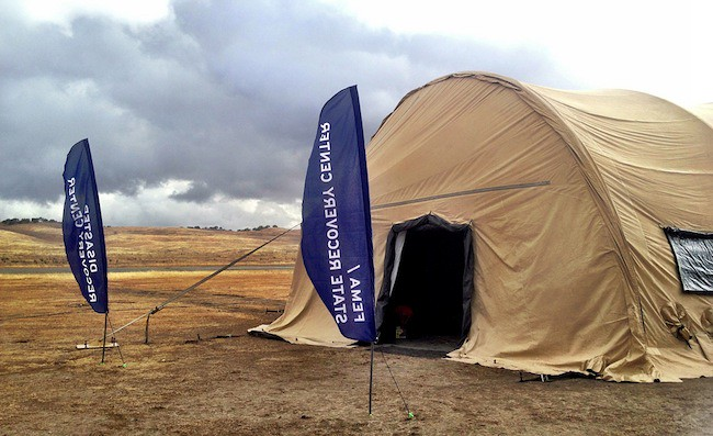 Disaster Relief Experiments with FEMA at Camp Roberts
