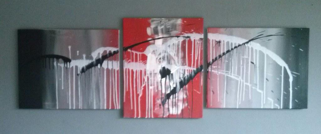 acryl painting 180x50