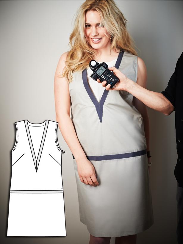 Для полных женщин выкройка вечернего платья фото 540