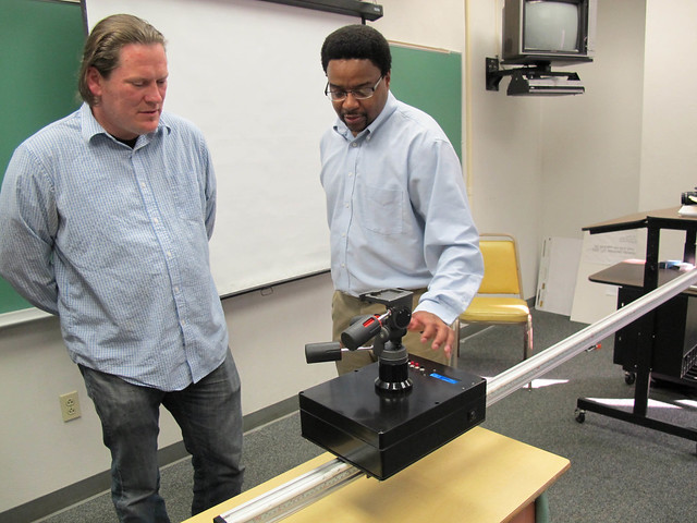 Engineering students design time-lapse camera dolly