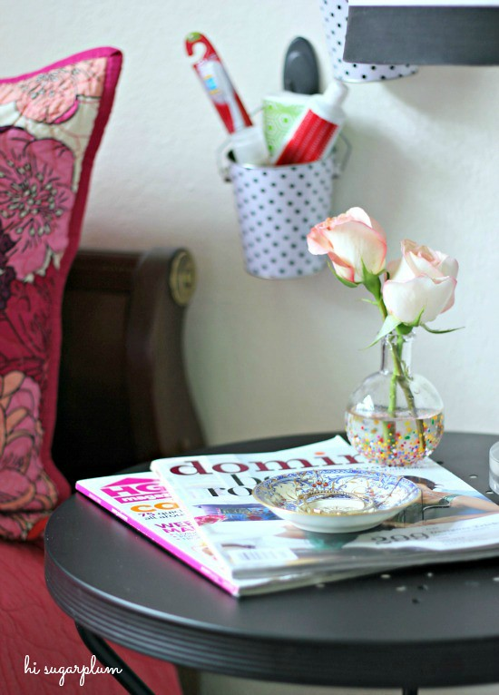 Hi Sugarplum | Prepping a Guest Room