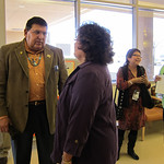 Navajo Nation and Arizona Officials Visit VA Clinic at Indian Chinle Hospital