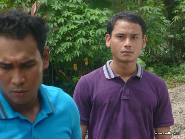 Aidil Aziz dan Riz Amin ... pegang watak cikgu